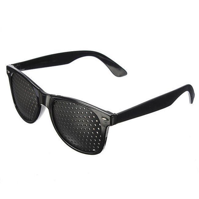 Děrované brýle pro možné zlepšení zraku 1