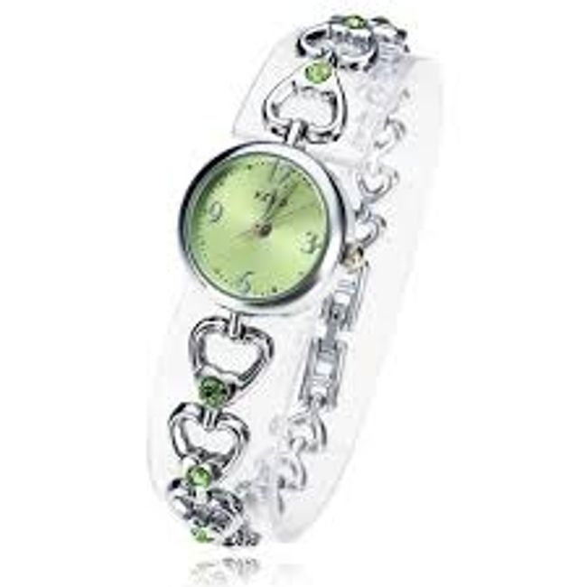 Srdíčkové hodinky ve 4 barvách 1