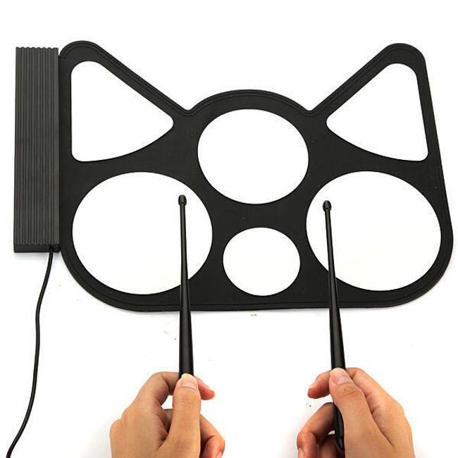 Digitální elektronické bicí USB 1
