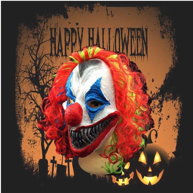 Strašidelná maska klauna 1