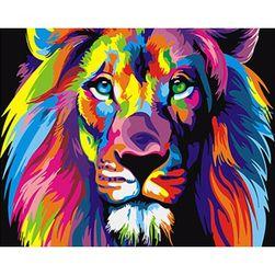 Slikanje brojevima - Lav