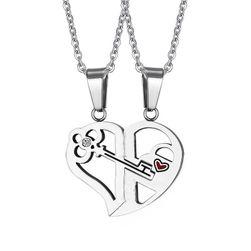 Romantična ogrlica za parove