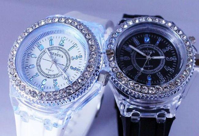 Zegarek Geneva z LED światłem 1