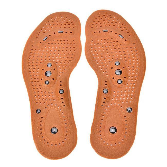 Masažni vložki za čevlje - z magnetom 1