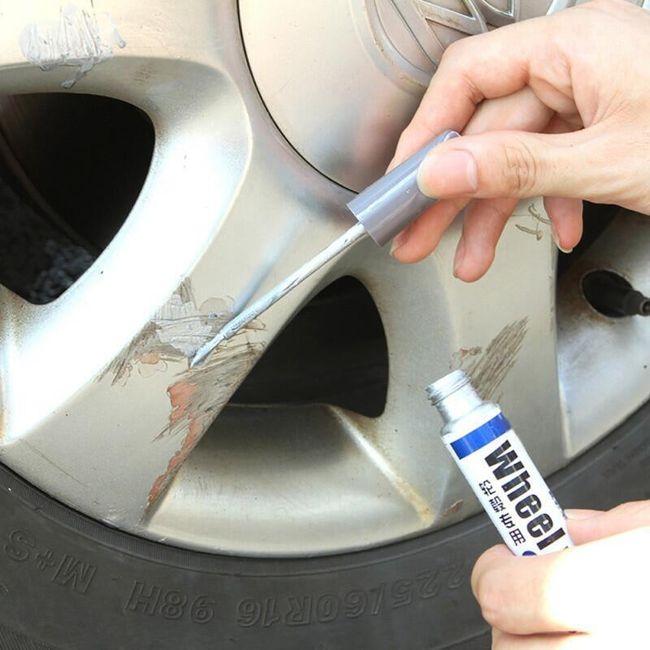 Писалка за поправяне на драскотини по дисковете на колелата 001 1