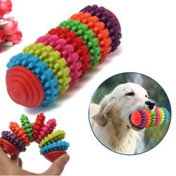 Резиновая игрушка для чистки зубов собаки
