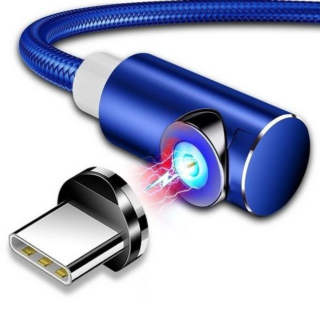 Магнитный зарядный USB-кабель NDU02 1