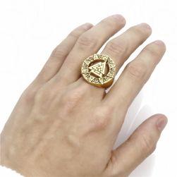 Moški prstan v dizajnu Viking