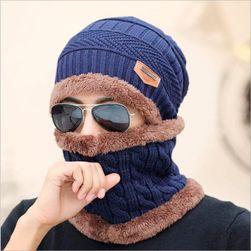 Зимняя шапка унисекс и шарф-снуф- 6 вариантов
