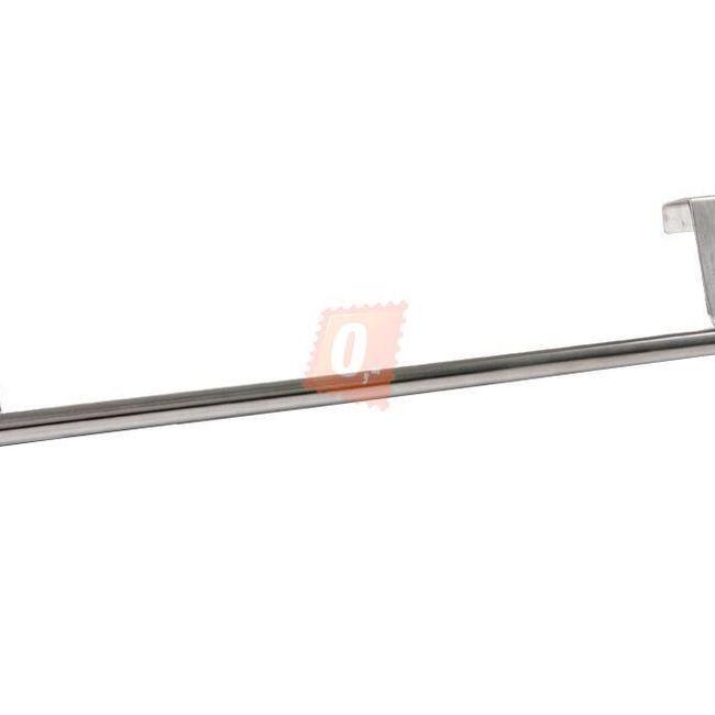 Nerezový závěsný držák na dveře - stříbrný 1