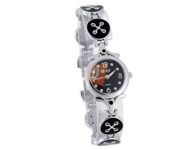 Dámské náramkové hodinky ELY - černé 1