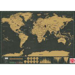 Karta svijeta - 42 x 30 cm