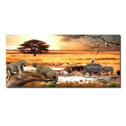 Slika na platnu bez rama - gepard WZ4