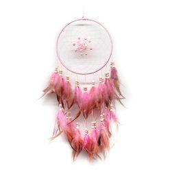 Růžový lapač snů