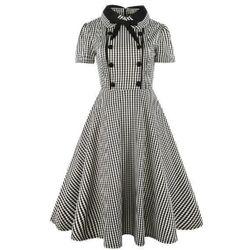 Ретро рокля с копчета - повече варианти