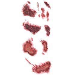 Переводная татуировка- фальшивые раны- 5 шт.
