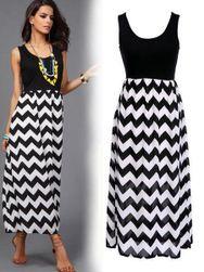 Černé šaty s originální sukní