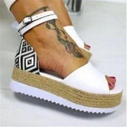 Дамски сандали на платформа Zuzetta