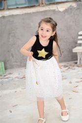 Dívčí šaty s hvězdičkou - 2 barvy