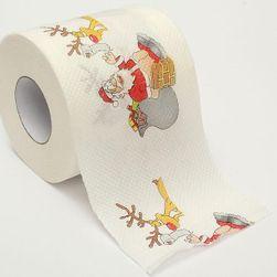 Hârtie igienică cu motive de Crăciun VAN5