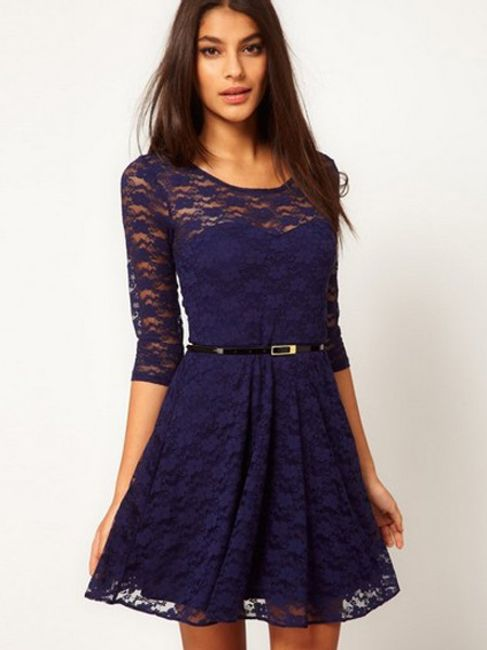 Elegancka sukienka koronkowa - kilka kolorów i wielkości 1