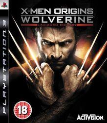 Játék (PS3) X-Men Origins: Wolverine Uncaged Edition