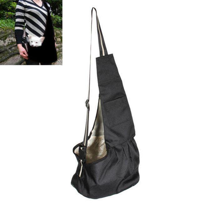 Pohodlná cestovní taška pro menší pejsky 1