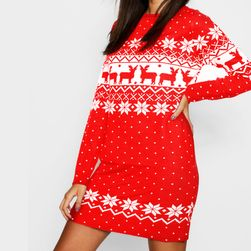 Damska sukienka bożonarodzeniowa TDR4