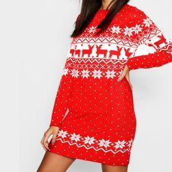 Női karácsonyi ruha TDR4