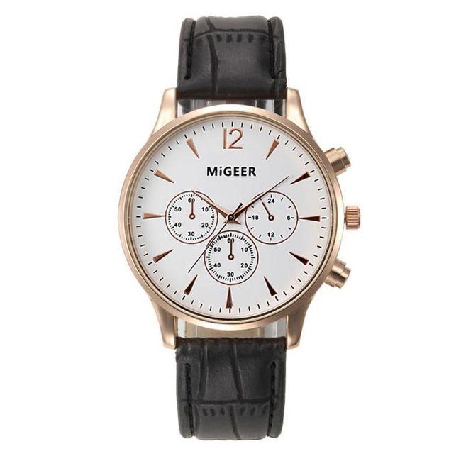 Pánské náramkové hodinky v luxusním stylu 1