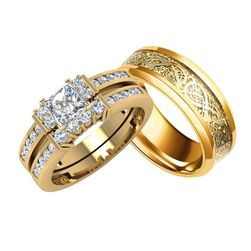 Prsten pro páry Ella
