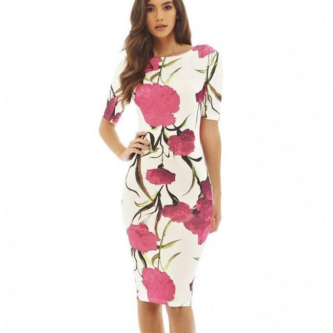 Платье с короткими рукавами Ninnia 1