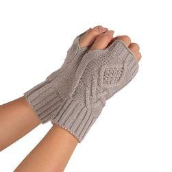Damskie rękawice bez palców