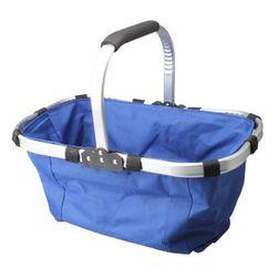 Koszyk na zakupy - niebieski