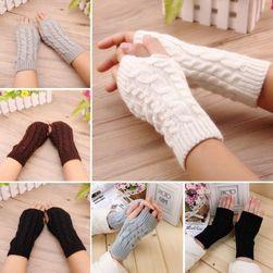 Delší rukavice bez prstů