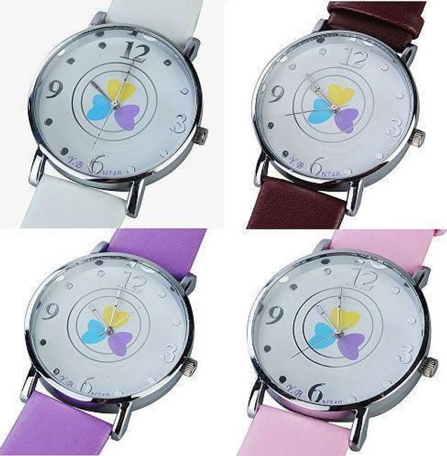 Dámské náramkové hodinky - na výběr ze čtyř barev 1