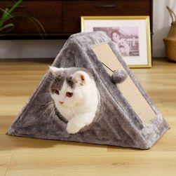 Škrabadlo pre mačky - domček PD_1537444