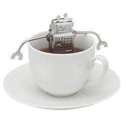 Robot vagy majom alakú tea szűrő