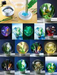 LED svietiaci váza Guľa PD_1003567