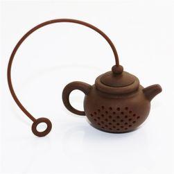 Sita de ceai sub formă de ceainic mic