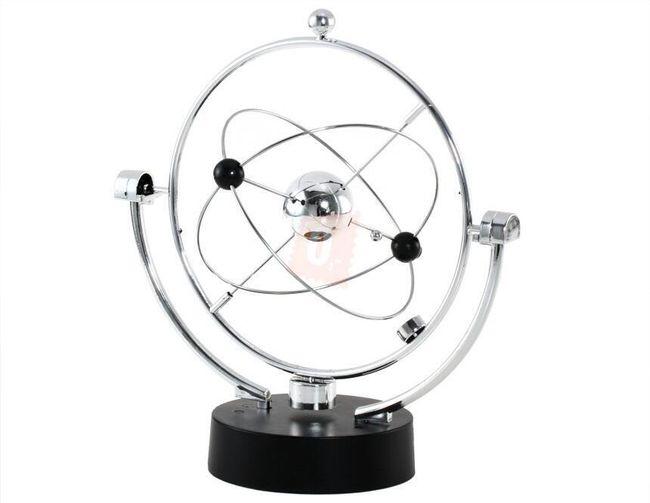 Dekorace na stůl - astronomický motiv 1
