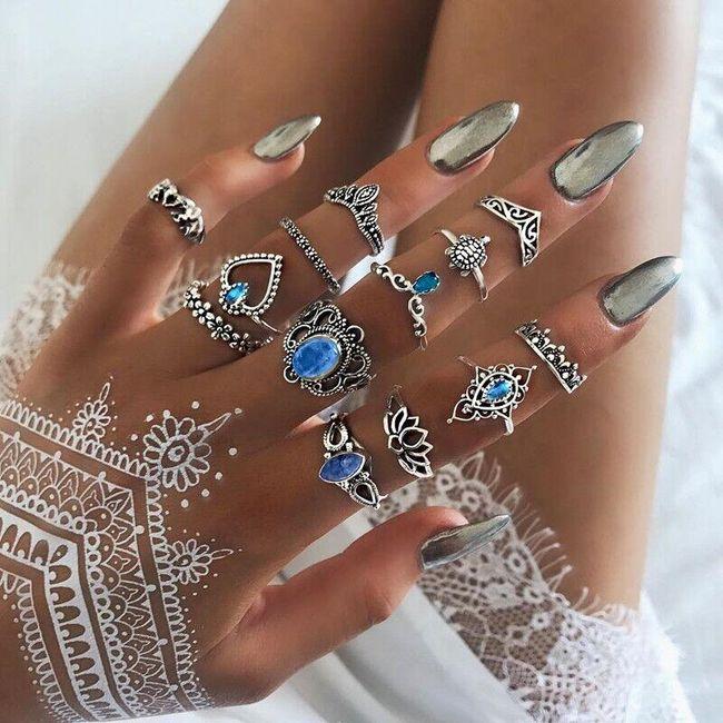 Komplet pierścionków Luhanah 1