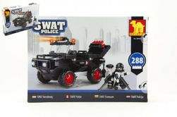 Stavebnica Dromader SWAT Polícia Auto 288ks plast v krabici 35x25x5,5cm RM_23223505