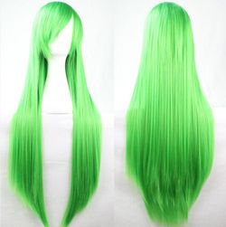 Paruka s rovnými vlasy - 80 cm