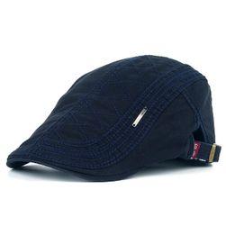Pánská ležérní čapka - 6 barev Námořní modř