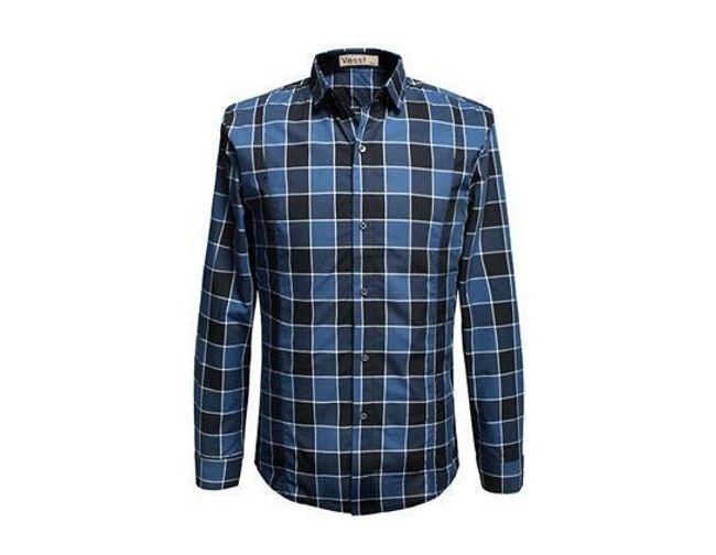 Pánská kostkovaná košile 1