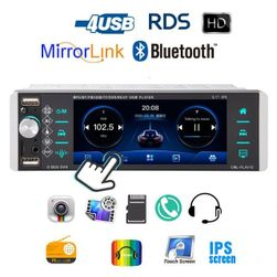 "Autoradio AR09 MP5 5,1""LCD, mirrorlink, handsfree 7 colored buttons"