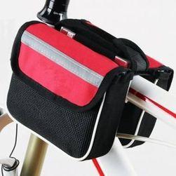 Torbica za okvir kolesa - rdeča