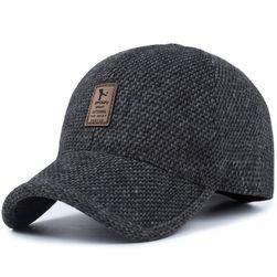 Pánská zimní čepice PZC01 Tmavě šedá