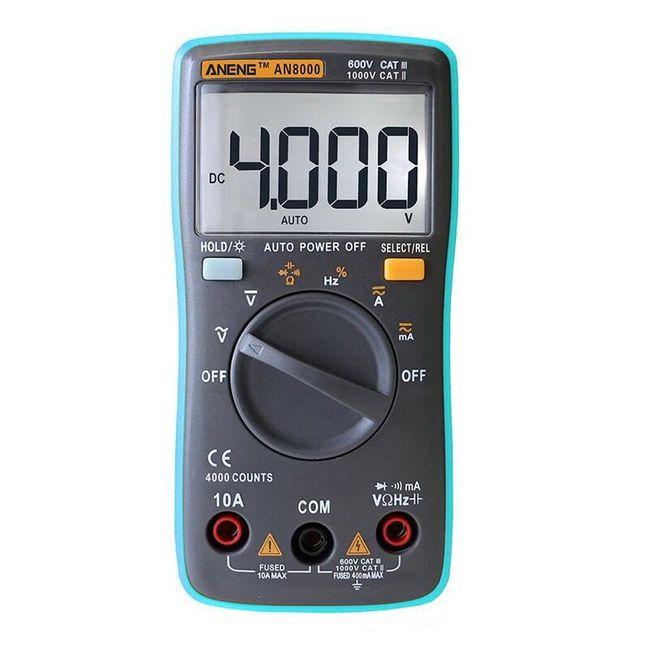 Digitalni multimeter z dodatki - AN8000 1
